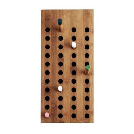 We do wood - Scoreboard Garderobe, klein - Einzelabbildung