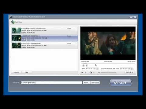 video editor tutorial - use idoo video editing software to cut video http://