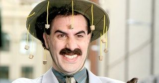 TIL that the FBI started compiling a file on Sacha Baron Cohen while he was filming 'Borat' after receiving numerous complaints about a…
