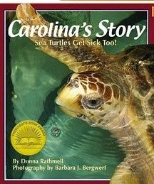This book follows the rescue and rehabilitation of a sea turtle affectionately named Carolina.  With the effective use of  close-up, colorful photos, the book details the treatment that Carolina receives from the Sea Turtle Hospital as she begins to recover from the effects of a long journey.  Readers explore the healing process that Carolina endures, including the raw emotions she displays along the way and in her eventual release back into the ocean.