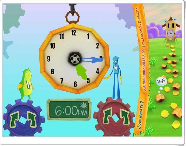 """Hora y minuto: """"¡Arreglamos el reloj! (Matemáticas de 2º y 3º de Primaria)"""