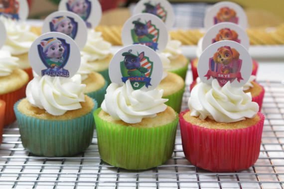 Custom Paw Patrol Cupcake Toppers  #pawpatrol #birthday #etsy #etsyshop #etsyseller #etsysellers #etsyyxe #yxeetsy #etsysaskatoon #saskatoonetsy #yxeetsyseller #etsybestsellers #cupcake #cupcaketoppers #cupcaketoppersforsale #partysupplies