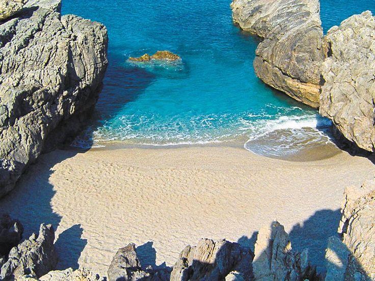 Crete island, Rethymno beach..