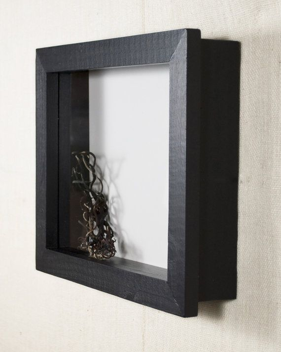 16x20 Shadow Box Frame - EXTRA Deep Shadow Box, Display Case, Picture Frame, Display Frame - Black Foam Core