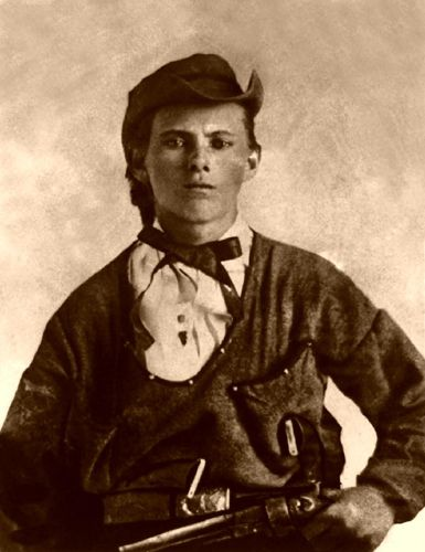 """Jesse James (partly) turned to crime as a means of exacting revenge on all things Yankee"""""""