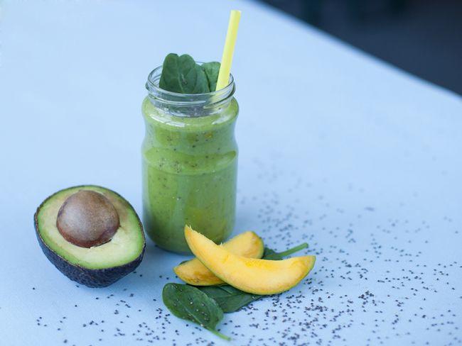 Green Smoothie mit Chia-Samen