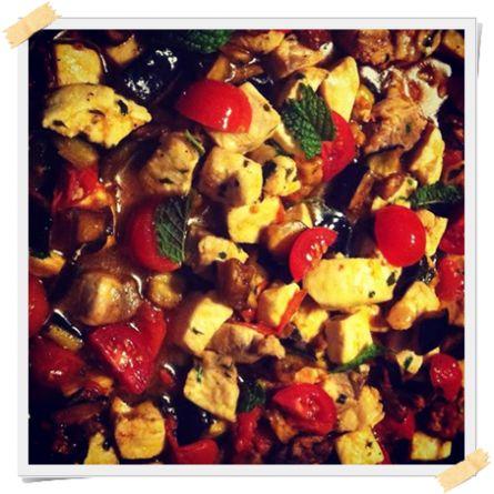 Pesce spada alla siciliana: ricetta super veloce - http://www.lamiadietadukan.com/ricetta-dieta-dukan-pesce-spada-alla-siciliana/