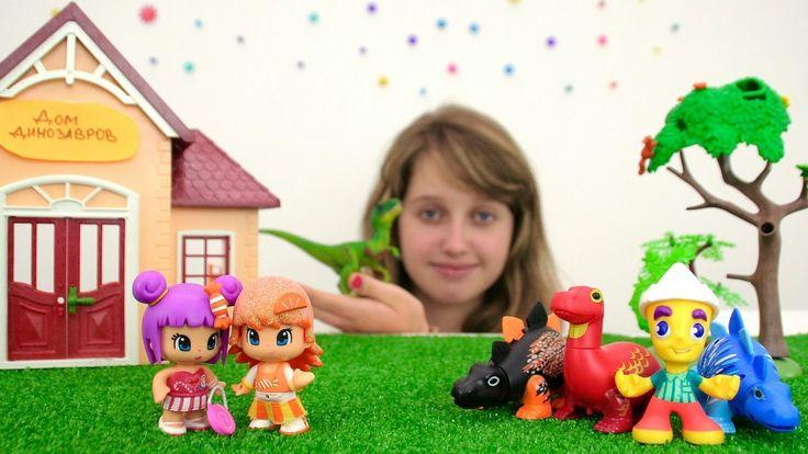 Обучающее видео для детей про динозавров. Истории и видео для детей с ди...