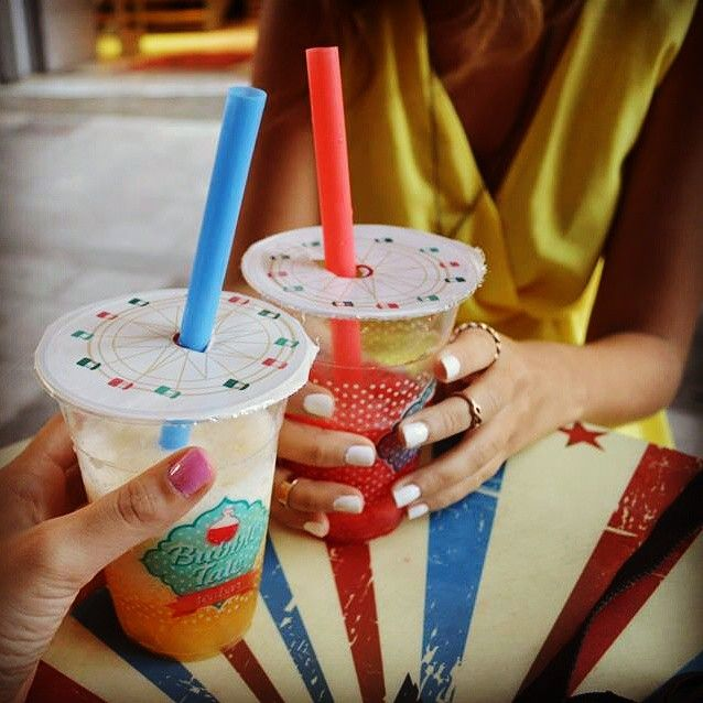 In love with bubble tea #addiction #buble_tale #tea_bar