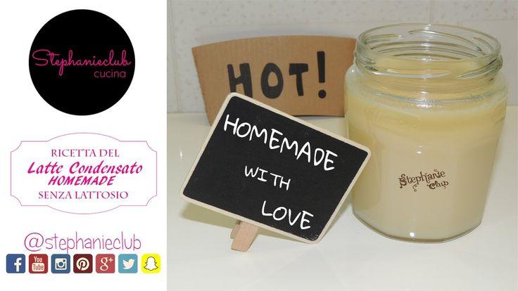 Latte Condensato Homemade   Ricetta facile e veloce - senza lattosio   s...