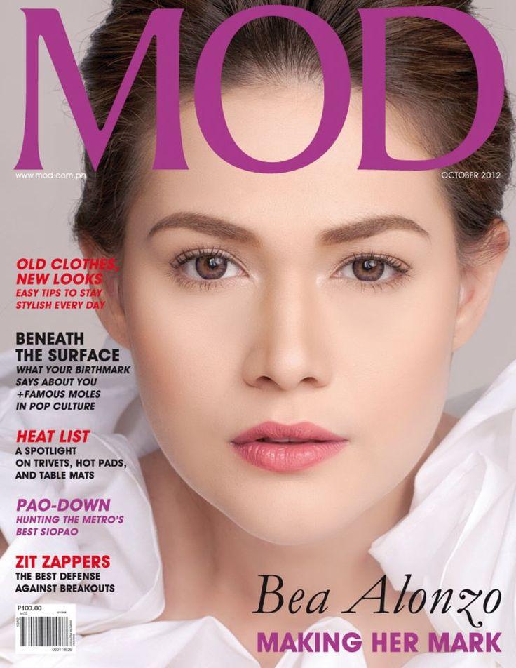 STARTRIGA: Bea Alonzo- MOD Philippines Magazine October 2012 Issue ...