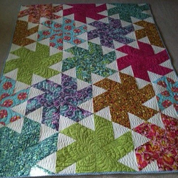 ballerina by Julie Herman of jaybirdquilts   -This is a really cute quilt.  Maybe I could make one!