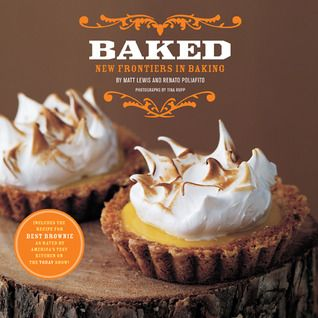 Baking--the first in a series of cookbooks showcasing the coolest new ideas in the baking world from the guys at Baked bakery in Brooklyn, NY.