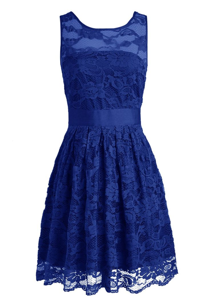Wedtrend Floral Lace Dress Bridesmaid Dress Short Homecoming Dress at Amazon Women's Clothing store: