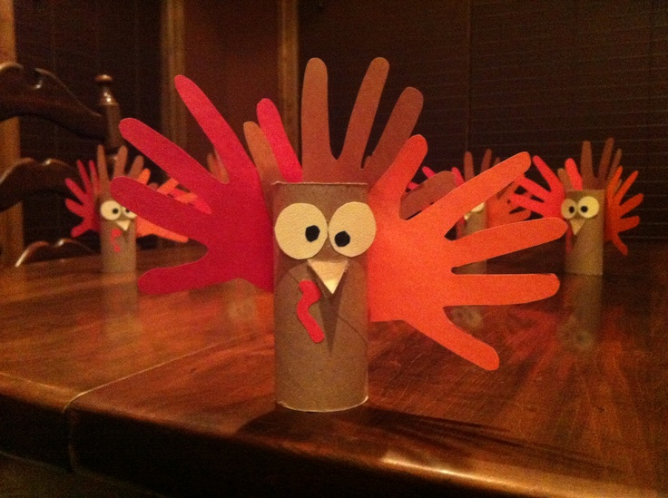 Toilet paper roll turkey gobble gobble pinterest for Toilet paper roll crafts thanksgiving