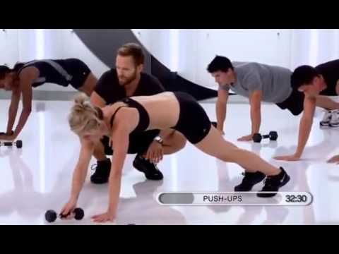 Bob Harper Beginner's Weight Loss Transformation - 45 minutes, weights and cardio YouTube
