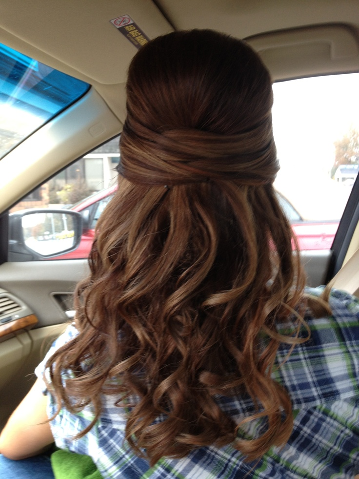 My hair for formal!