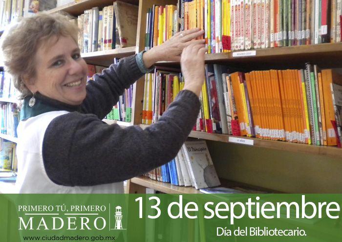 ¡Día del Bibliotecario!