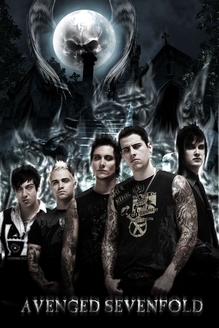 Avenged Sevenfold   I like this band, reminds me of Metallica