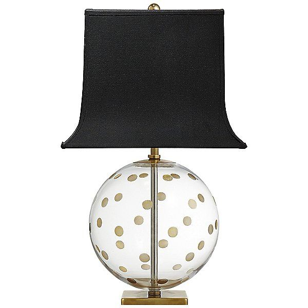 Visual Comfort Clear Pavillion Globe Table Lamp By Kate Spade
