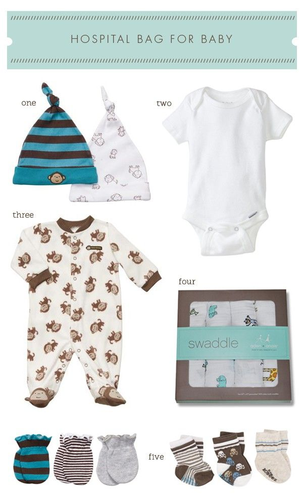 What to pack for baby in your hospital Bag | Hellobee