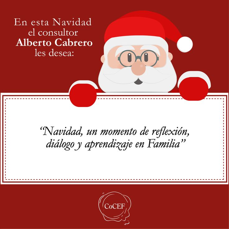 Saludo de Navidad del consultor Alberto Cabrero
