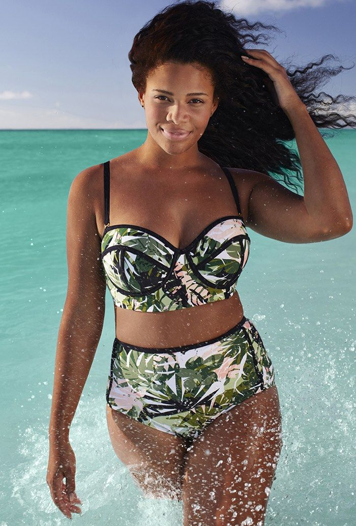 Faved onto Plus Size SwimsuitsBoutique in Women's Fashion Category