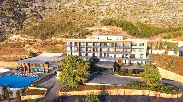 The brand new mist hotel spa by warwick in ehden for Hotel spa nueva castilla