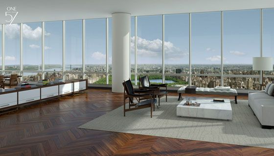ONE 57 Manhattan New York Penthouse apartment for sale 90,000,000 smackers