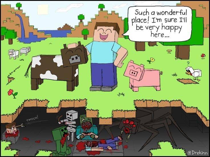 Minecraft steve lady porn