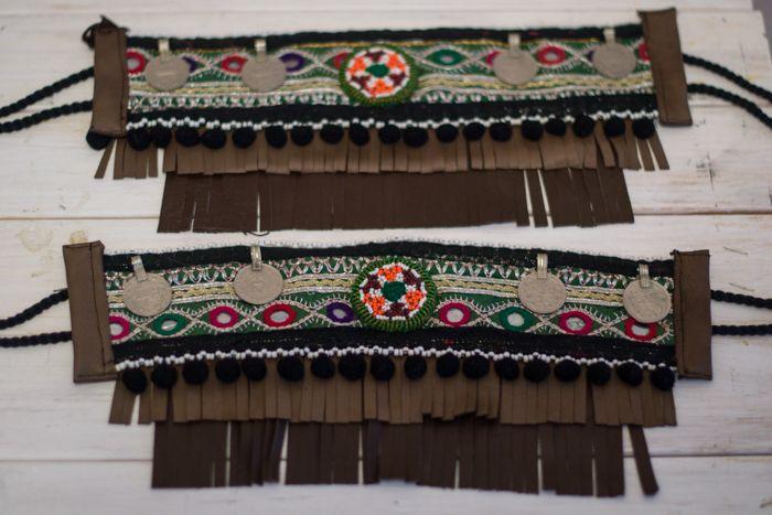 Image of cubrebotas ethnic , colección dreams green mirror