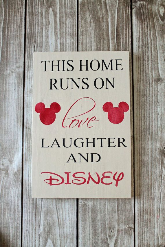 Disney Cruise Ship Engine Room: This Home Runs On Love, Laughter And Disney. Hand Painted