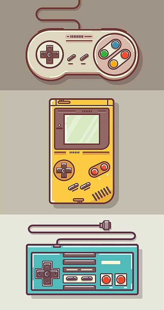 Have you noticed the trend in retro design? Here's a run down of some popular graphic design trends in Whats Wallpaper, Game Wallpaper Iphone, Video Game Logos, Video Game Art, Retro Videos, Retro Video Games, Retro Games, Graphic Design Trends, Retro Design