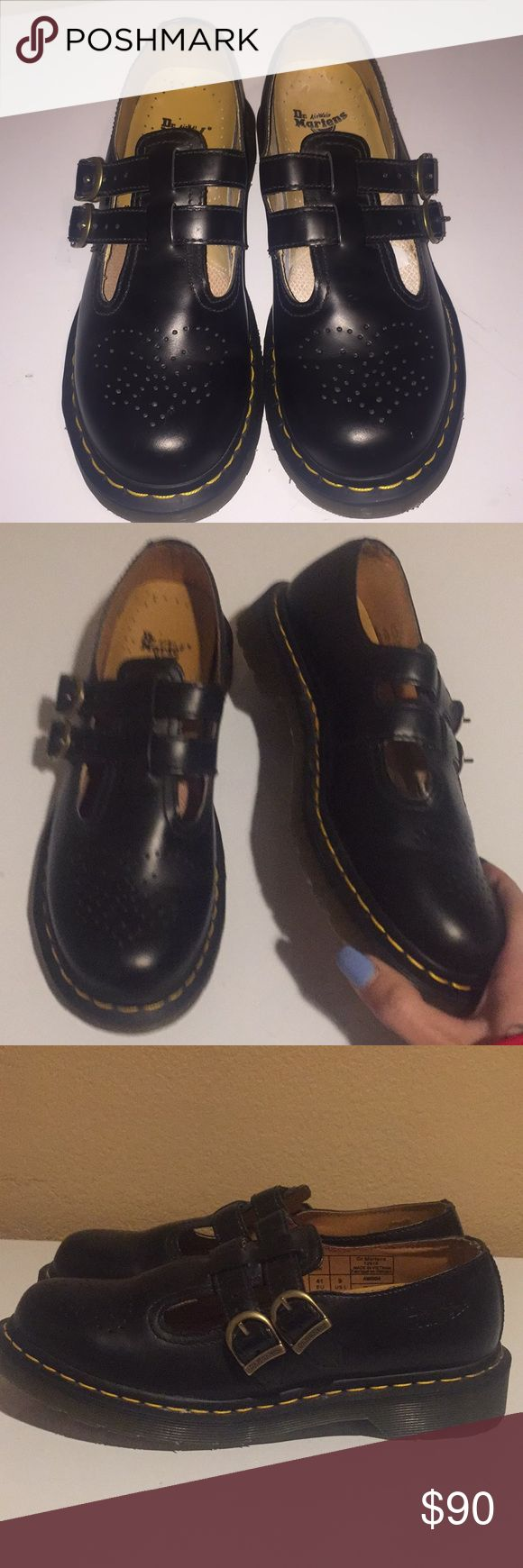Authentic dr martens Mary Janes Authentic. Us size 9. Wore once for An hour. Minor wear on area your foot slides into but virtually these are brand new Dr. Martens Shoes Flats & Loafers