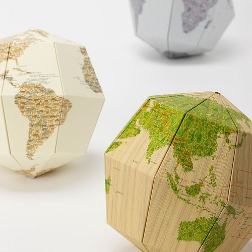 A project for the kids. Then fill the half globe! Or string together in a garland!!!!! Love this!!!