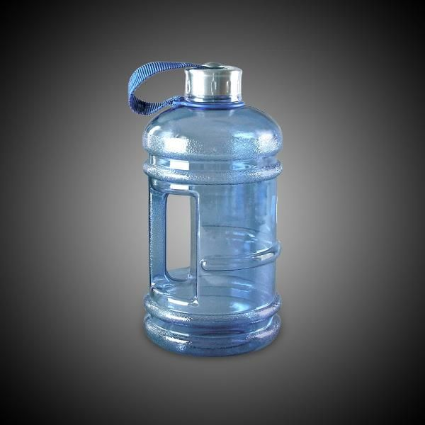 """2.2L BpA FREE ENVIRO BOTTLE """"This bottle is perfect for staying hydrated as it holds your daily requirement of water. Great for use when you are doing a cleanse or are on a supplement regimen that requires close monitoring of your water intake. The handle makes this bottle easy to take along."""" #water #WaterBottle #EnviroBottle"""