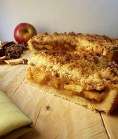 A Cozinha Coletiva: Torta Crumble de Maçã Caramelada