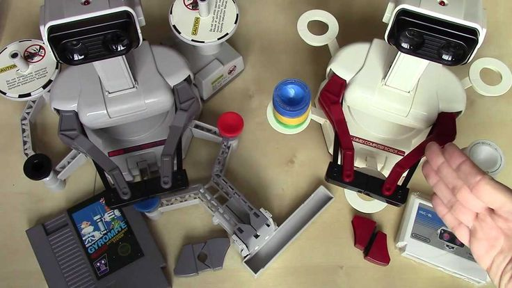 Robotic Operating Buddy and Famicom Robot - ROB and Famicom Robot - Robotic Operating Buddy - Famicom Robot - Gyromite - Stack-Up - Stack Up - Nintendo Entertainment System - Famicom - Nintendo