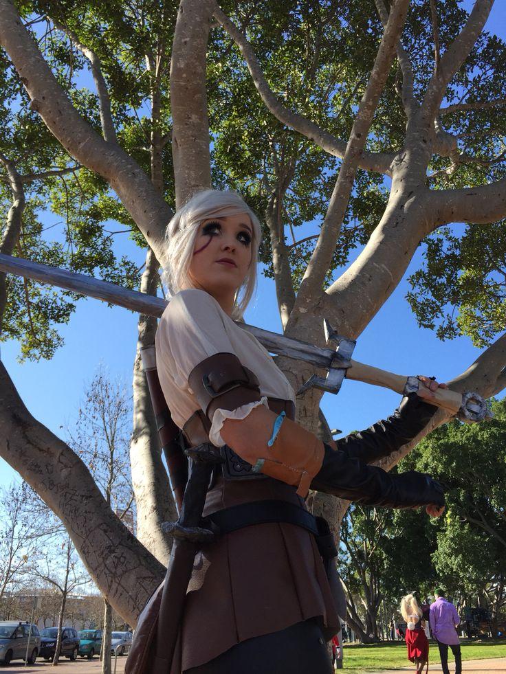 My Ciri cosplay from Sydney supanova