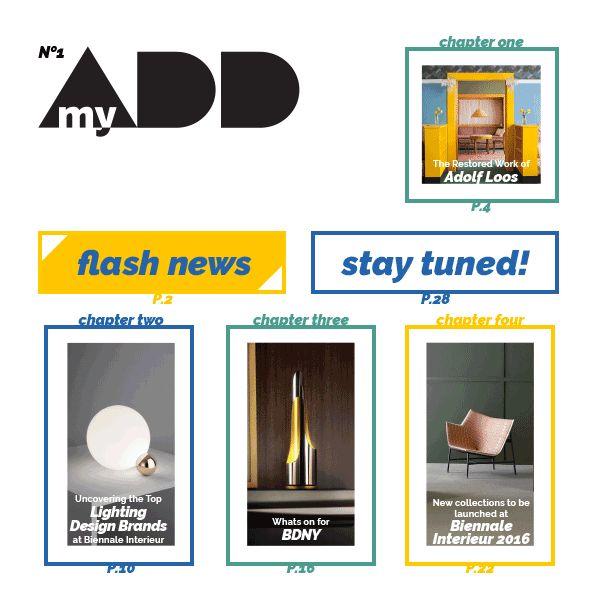 My Design Agenda| MyADD - New publication for download