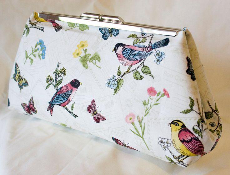 Clutch Bag - Purse - Hand Bag - Accessory Bag - Toiletry Bag - Handmade bag in…