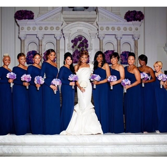 Monica Her Star Studded Bridesmaids Line Up