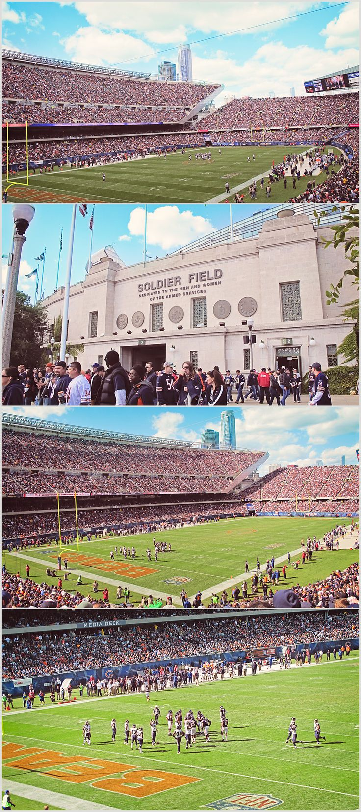 Go to a game at Soldier Field