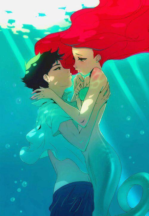 little mermaid anime into the world of disney pinterest