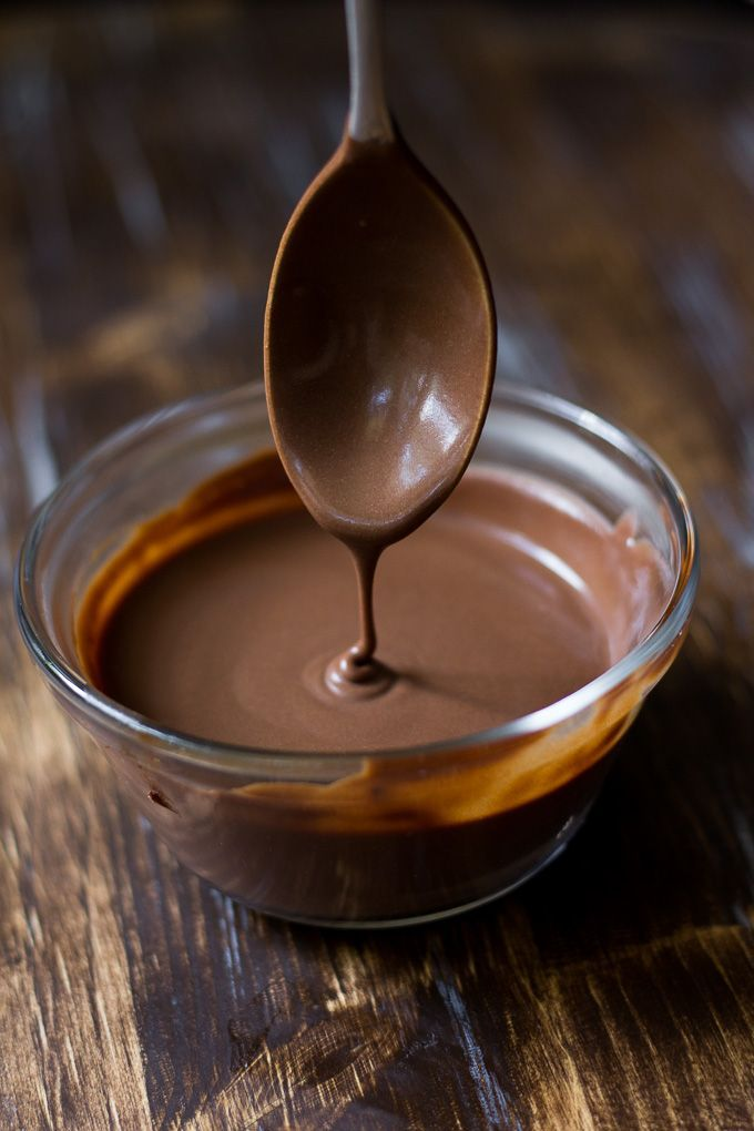 Simple Chocolate Fudge Sauce {Paleo & Vegan}