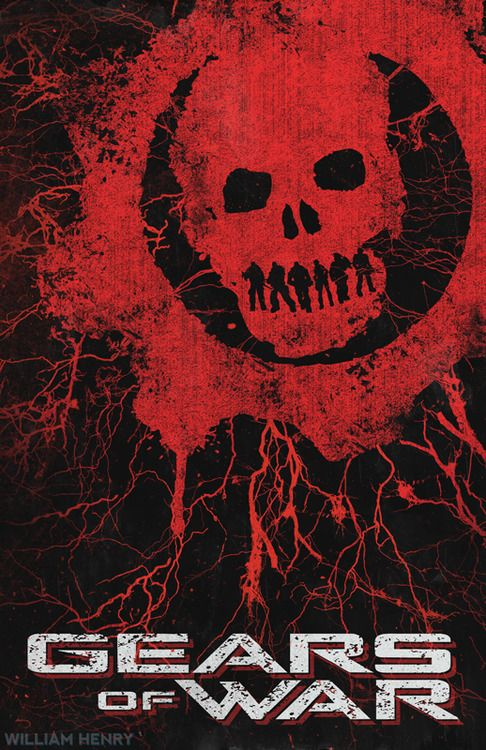 Gears Of War poster by billpyle.deviantart.com on @DeviantArt