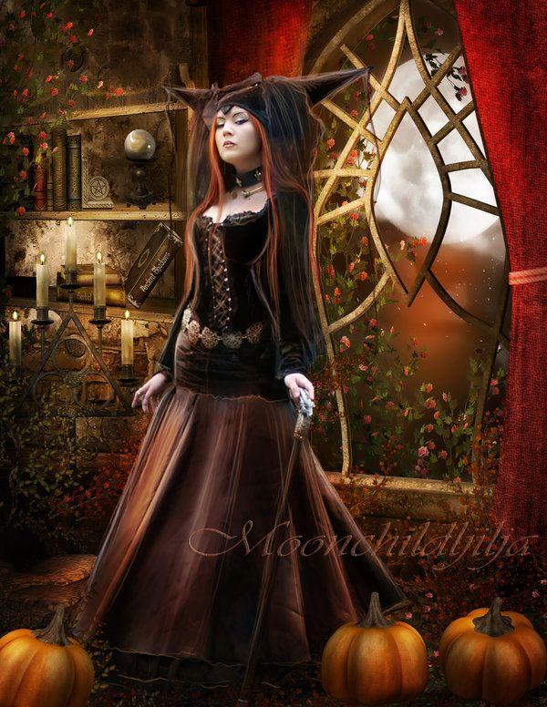 Moonlight darkness... by moonchild-ljilja.deviantart.com on @deviantART