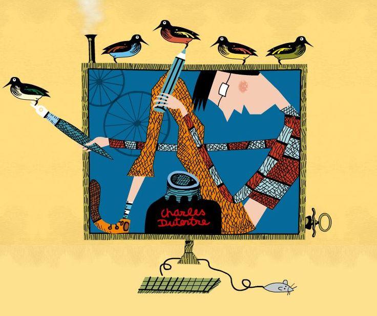Charles DUTERTRE. Cette image est animée sur son site : http://www.charles-dutertre.fr/