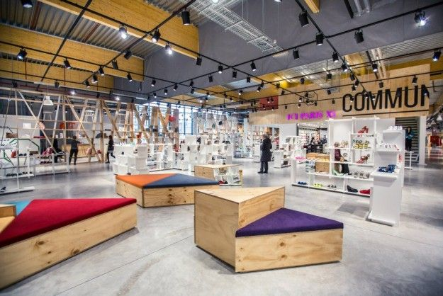 Discovery, frequent change and an open layout aim to resonate with young shoppers.