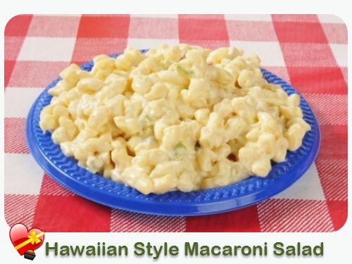 Hawaiian Macaroni Salad - ILoveHawaiianFoodRecipes